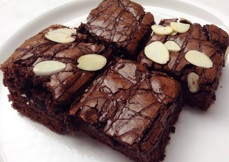 Brownies Panggang (Fudgy Type)