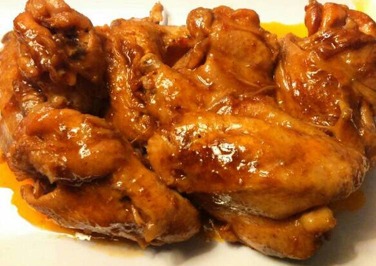 Resep Korean chicken wings #ketopad Karya IWA KARTIKA