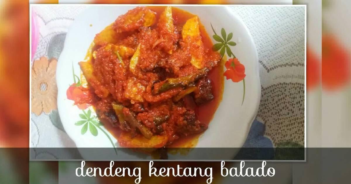 Resep Dendeng kentang balado simple oleh Bunda Bunga ...
