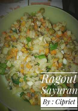 Ragout Sayuran Simple Untuk Isian Risoles