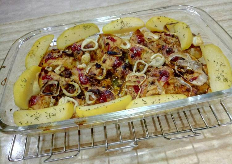 Resep Ayam panggang bolognese Oleh YaayaaKitchen