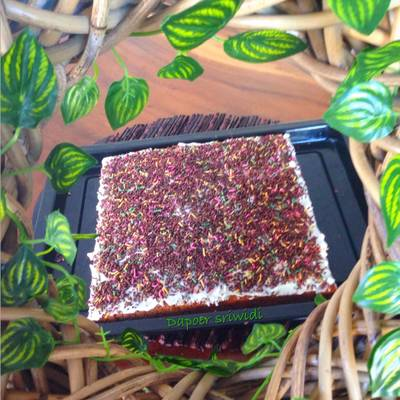 Carrot cake palm sugar