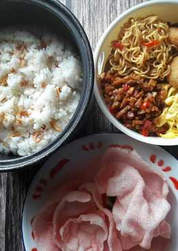 Nasi uduk ricecooker