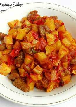 Sambal kentang bakso