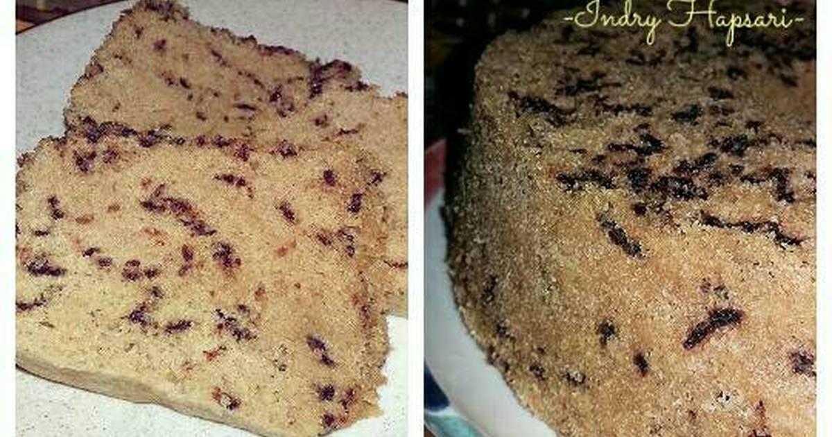Resep Cake Kukus Cappucinno Meses (murmer, bahan mudah didapat)