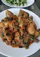 Ayam rica rica khas manado (sampai jilat jari)