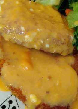 Chicken katsu saus ala richeese
