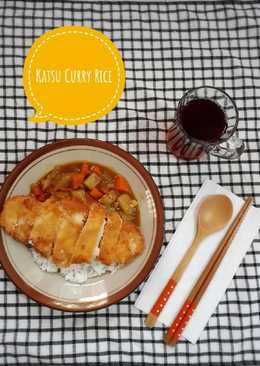 Katsu Curry Rice (Tanpa Japanese Curry Roux Block)