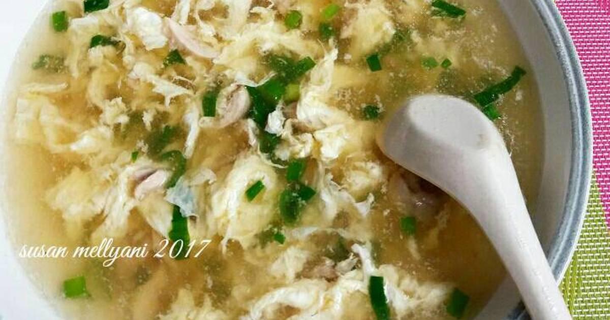 Resep Sup Telur Simple Oleh Susan Mellyani