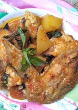 Ayam rica-rica pedas kemangi
