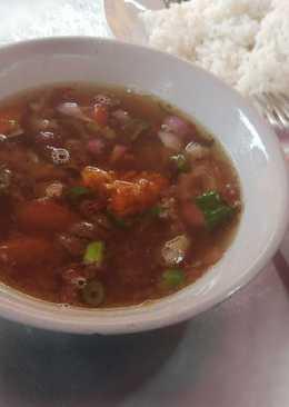 Soto Kambing Kuah Bening Mang Yudi (#pr_homemadestreetfood)