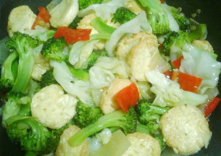 Tumis brokoli egg taufu #bikinramadanberkesan