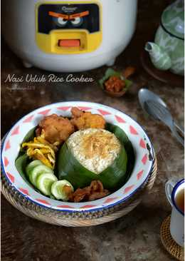 Nasi Uduk Rice Cooker #bikinramadanberkesan #day21