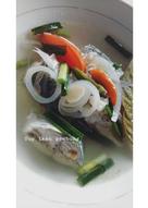 Sup ikan gembung segar
