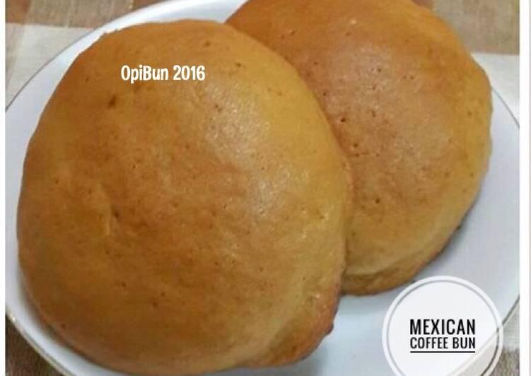 resep makanan RotiBoy (Mexican Coffee Bun)