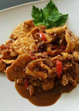 Chicken Teriyaki saus buatan sendiri
