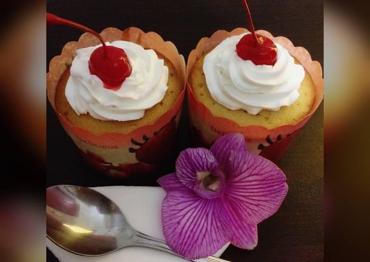 Resep Sweet Cherry Cupcakes Karya Ayu Novitasari
