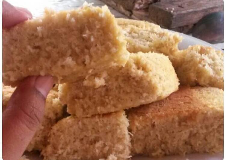 Resep Cake bolu kelapa parut hemat nikmat oleh sunita - Cookpad