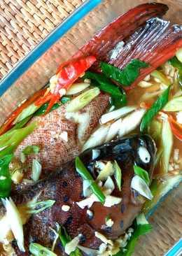 Ikan kerapu steam