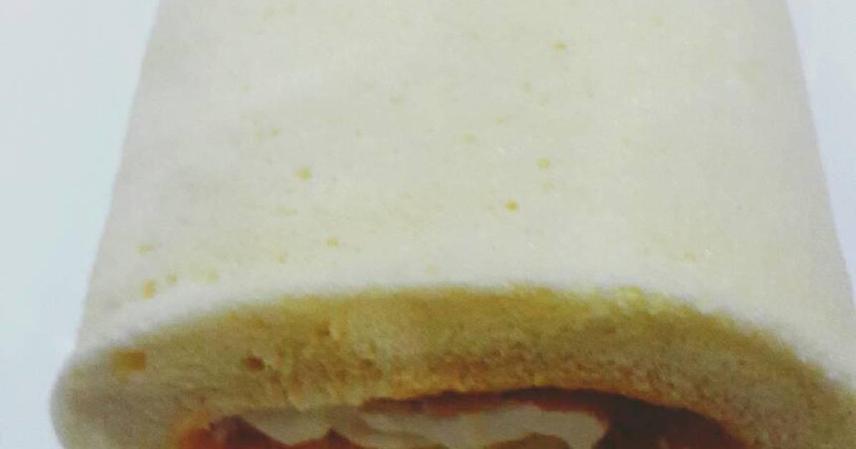 Resep Roll cake dengan 3 bahan mengunakan tepung beras