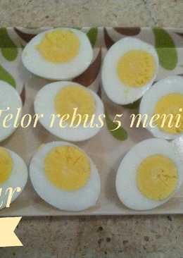 Telur rabus 5 menit aja