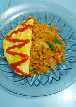 Korean Simple Fried Rice - Nasi goreng korea sederhana