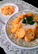 Chicken Egg Roll & Salad Sayur ala Hokben