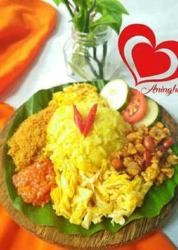 Nasi Kuning ricecooker