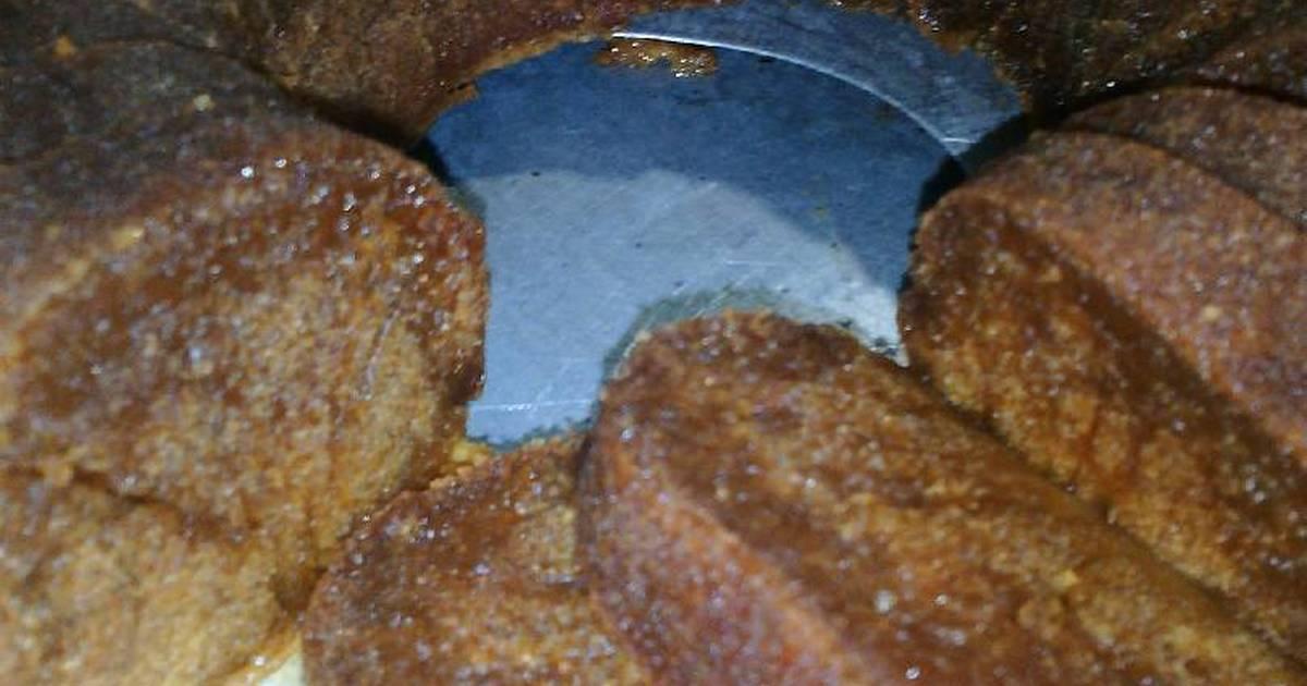 Resep Cake karamel alias Cake Sarang Semut