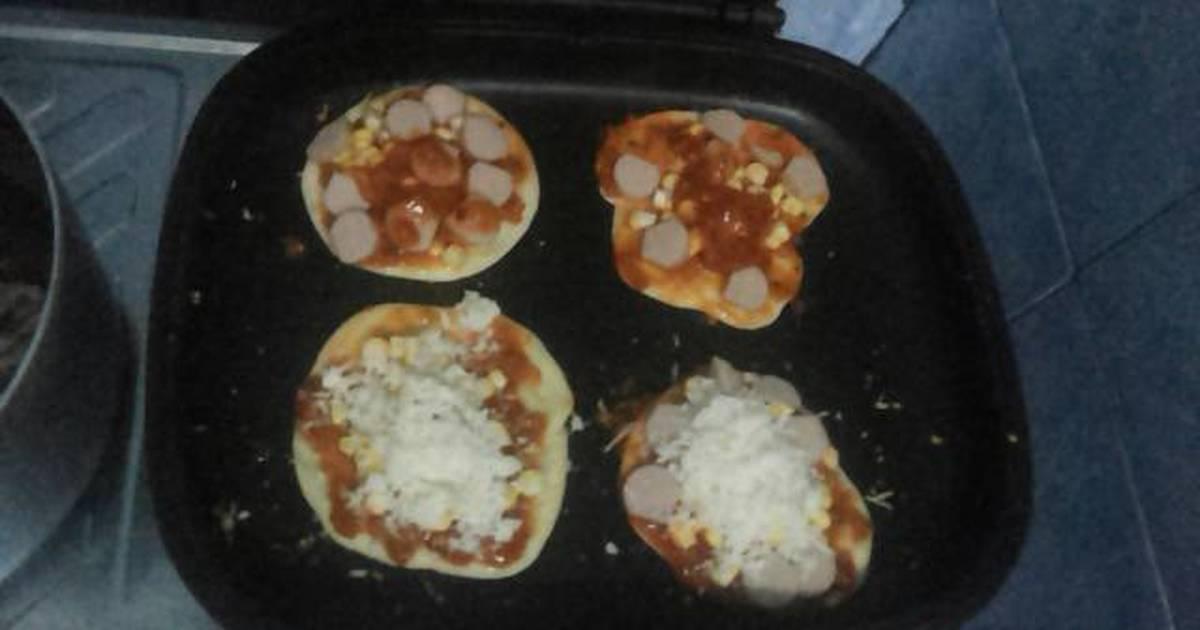 Resep Pizza Mini HappyCall oleh Ully Rahmawati - Cookpad