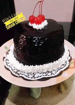 144 resep kue ultah siram coklat enak dan sederhana Cookpad