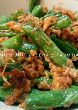 Tumis Buncis Telor