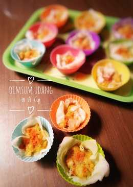 Dimsum Udang in A Cup