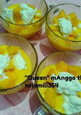 Jus QUEEN mango thai kekinian #enakanbikinsendiri