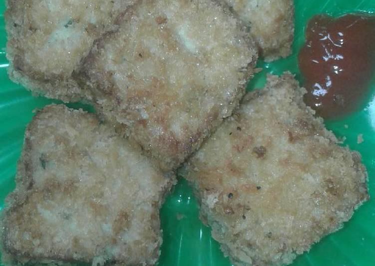Nugget ayam tanpa telur