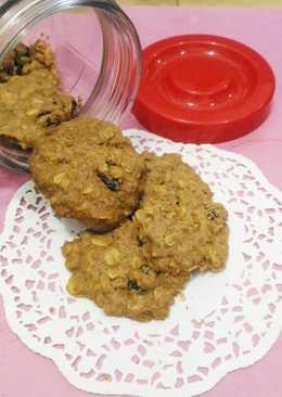 Havermout Raisin Cookies