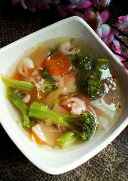 Sup Udang Brokoli Kentang