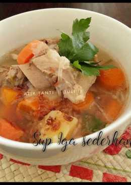 Sup Iga sederhana