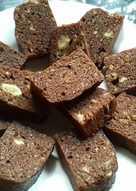 Brownies choco banana cake
