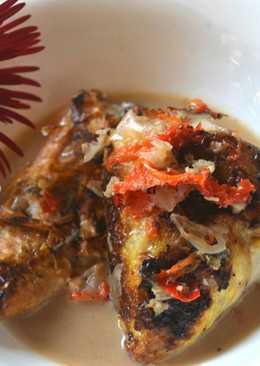 Cobek ikan mas