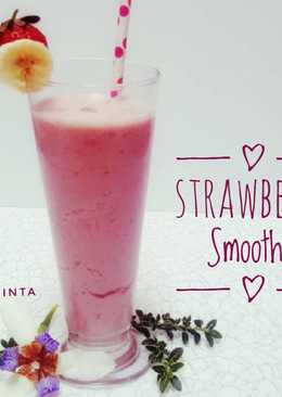 Strawberry Banana Smoothie #SelasaBisa