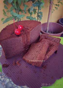 Milo Tiramisu Chiffon Cake #beranibaking