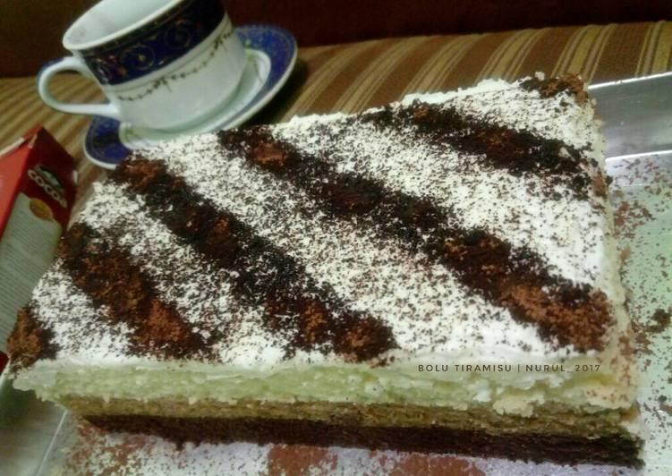 Resep Brownies/Bolu tiramisu kukus By nurul ys