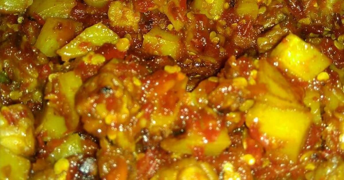 Resep Tumis Sambal kenpe (kentang tempe) oleh Ariati ...