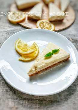 Lemon Cheese Cake No Bake