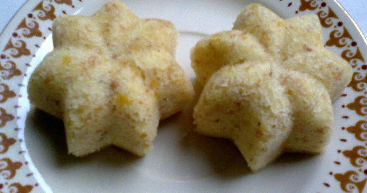 Resep Bolu pisang kukus sakura