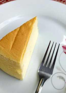 Japanese Cotton Cheesecake Super Cheesy No Cream Cheese