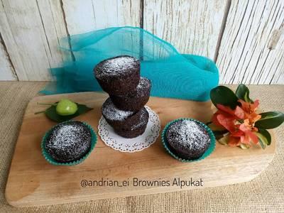 Brownies Alpukat (Tanpa Butter, Tanpa Mixer) #browniesalpukat