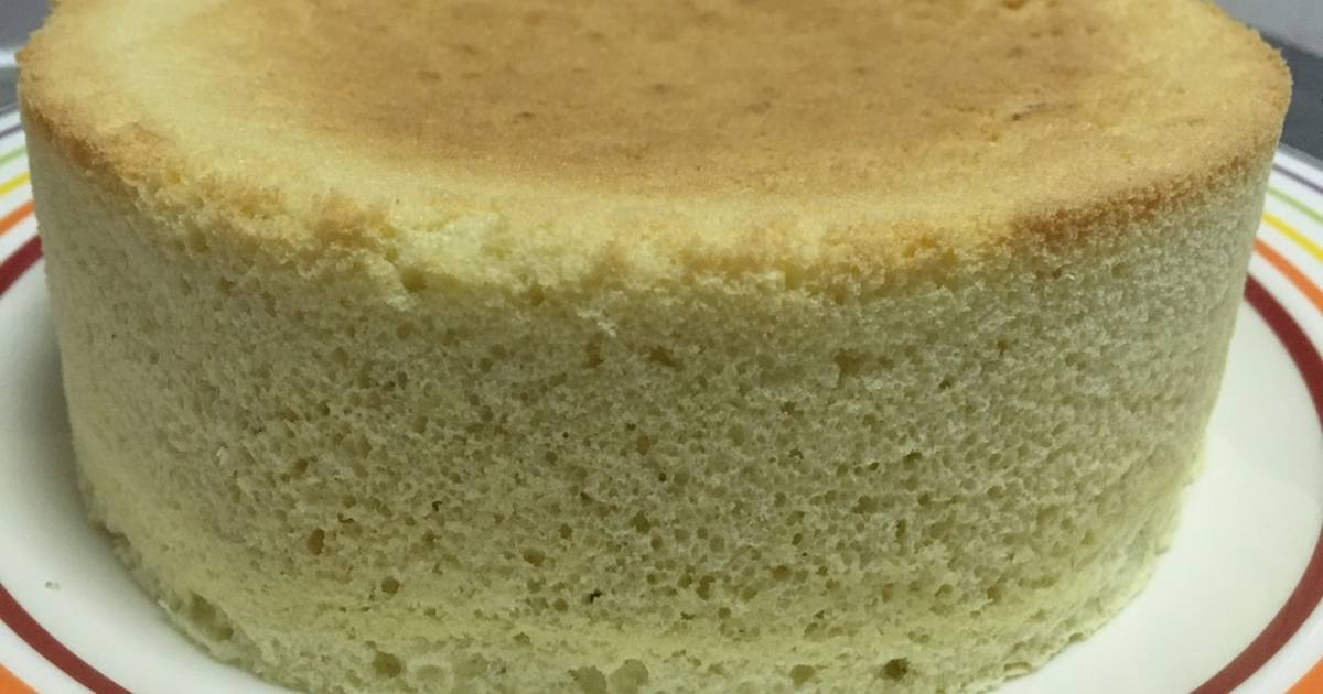 Resep Pandan Chiffon Cake in Rice Cooker