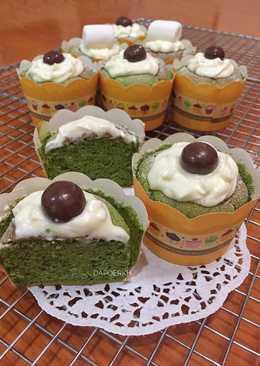 Hokkaido Matcha Chiffon Cake (#PR_AnekaChiffon)